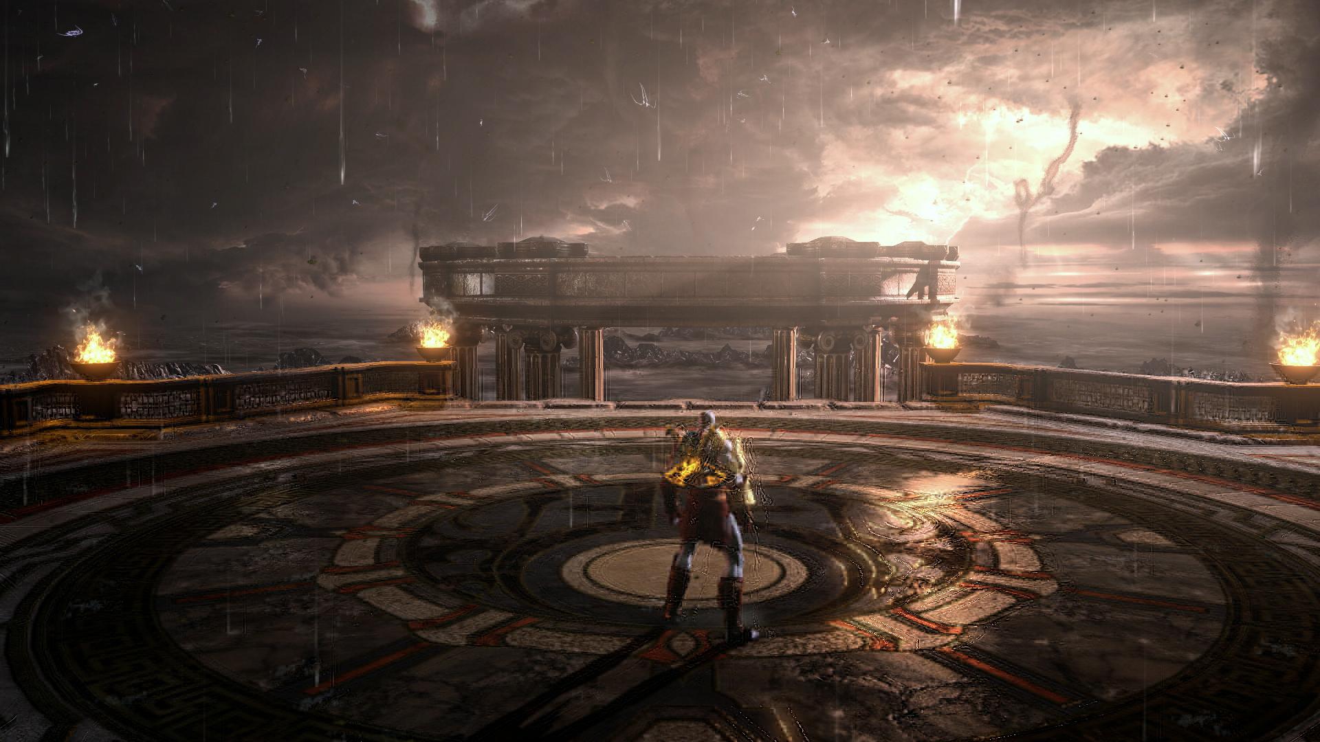 بازی God of War III Remastered