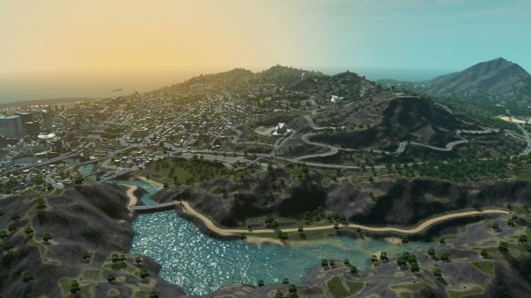 نقشه بازی GTA V