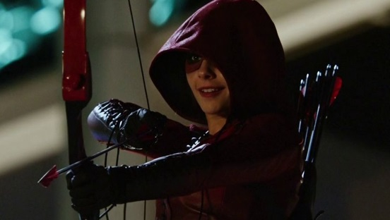 Willa Holland در نقش اسپیدی