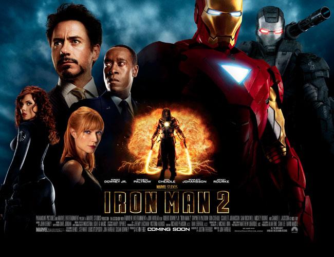 Iron Man 2 محصول 2011