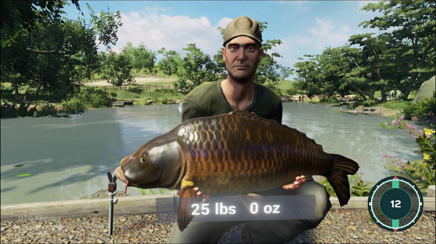 Dovetail games fishing for Ps4 fishing games