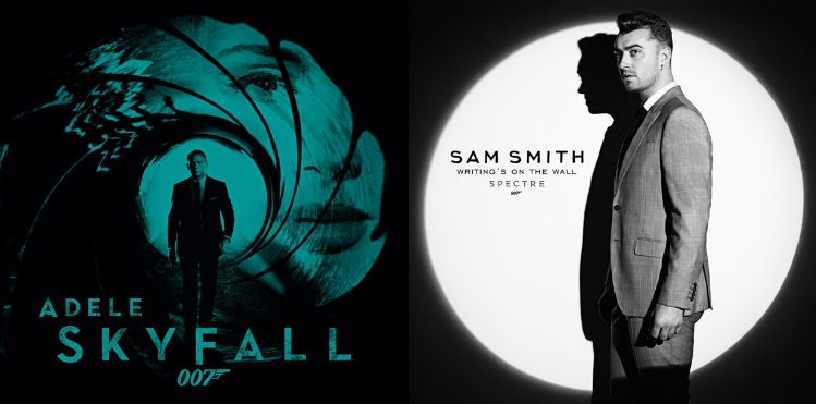007 Spectre - music - Adele (Skyfall) Vs. sam smith (writings on the wall)