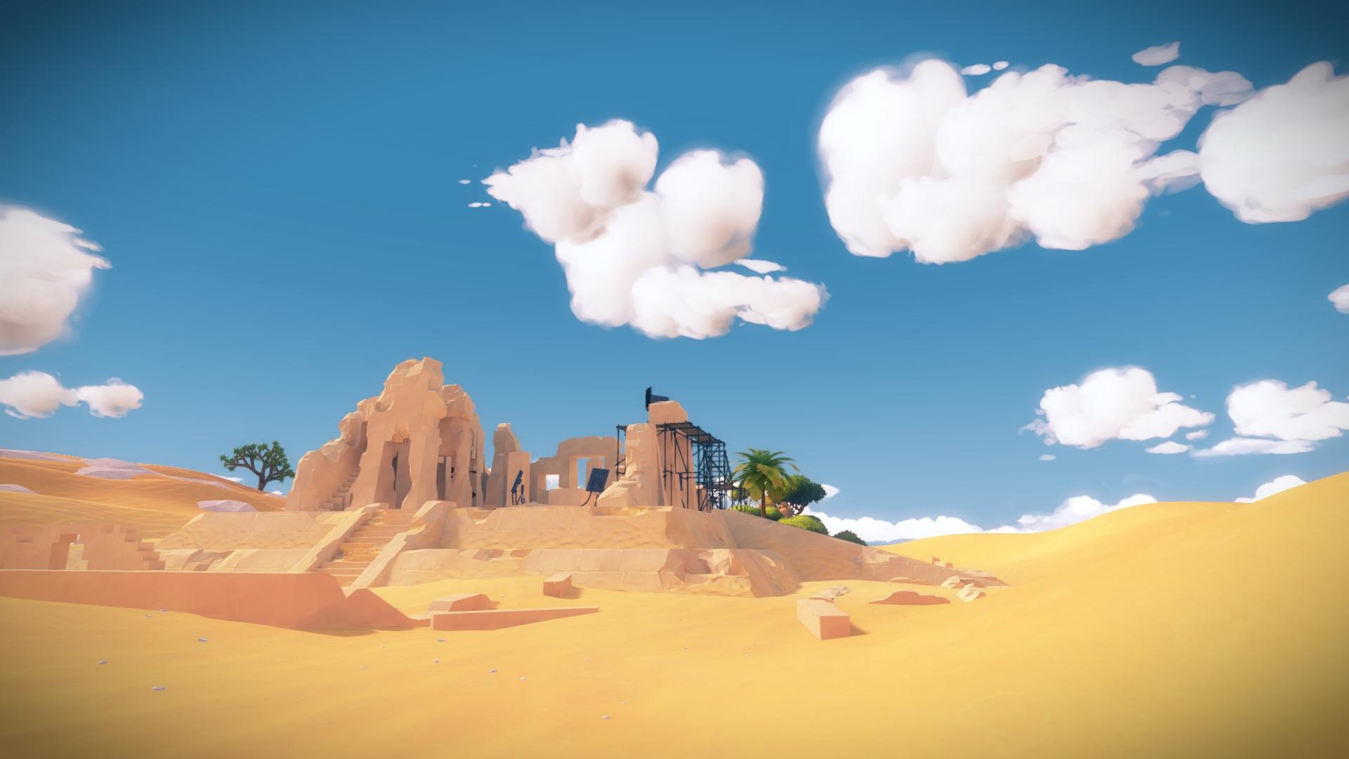 با اینکه در نقشهی بازی به جز شخصیت تحت کنترل ما جنبندهی دیگری حضور ندارد ولی محیطهای بازی به شکل شگفت انگیزی زنده و پر از زندگی هستند.