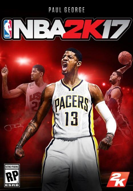 NBA 2K17 Cover