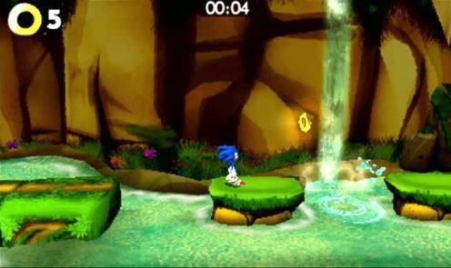 صحنهای از گیم پلی Sonic Boom Shattered Crystal