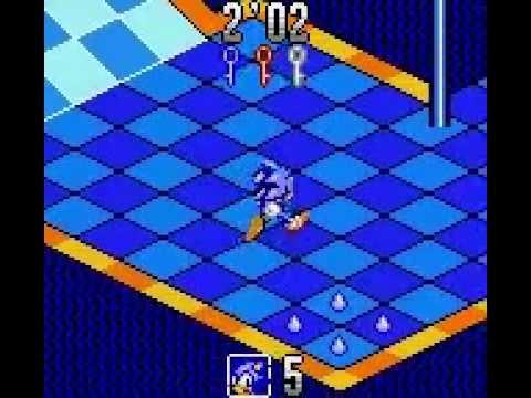 دید ایزومتریک و صفحهی شطرنجی در Sonic Labyrinth