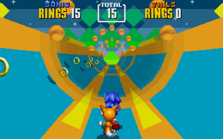 گیم پلی سه بعدی در مراحل ویژهی قسمت دوم بازی