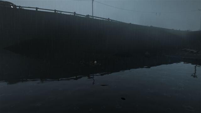 بارش باران در اتمسفر تاریک و گیرای بازی، وصف نشدنی است.