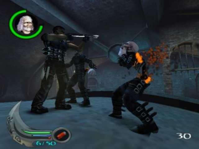 صحنهای از یکی از عناوین Blade