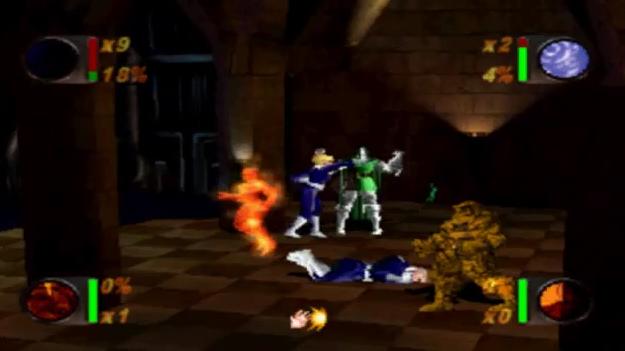 صحنهای از اولین بازی چهار شگفت انگیز