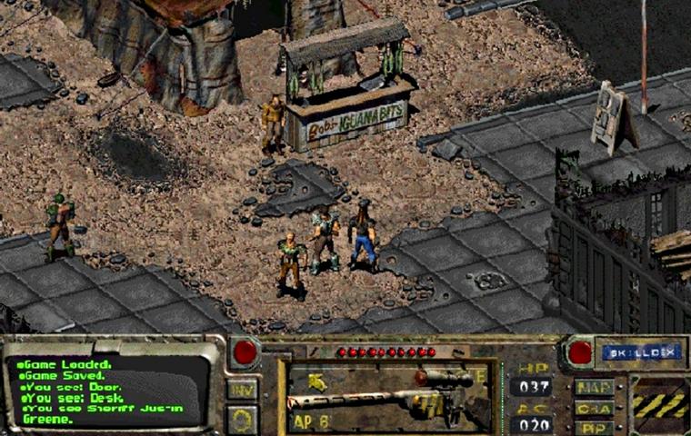 تصویری از اولین قسمت از بازی پسآخرالزمانی fallout، که امروزه به یکی از بزرگترین مجموعههای نقشآفرینی تاریخ گیم بدل شده.