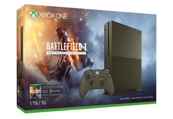 باندل ویژهی ۱ ترابایتی کنسول اکسباکس وان همراه با بازی Battlefield 1 معرفی شد