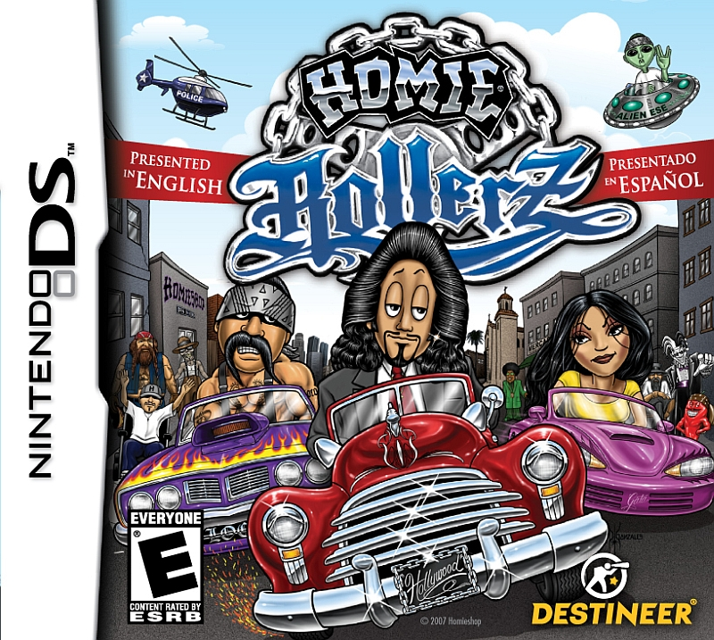 بدترین بازیهای تاریخ - Homie Rollerz
