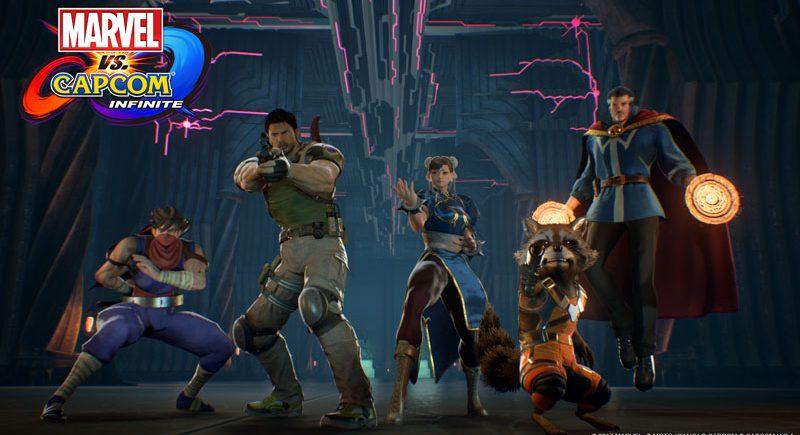 تریلر بازی Marvel vs. Capcom Infinite زیرنویس فارسی کپکام