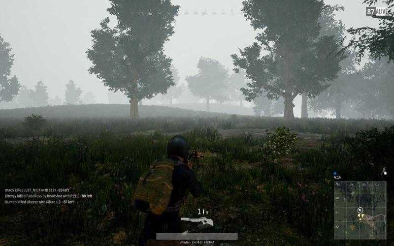 آب و هوای مهآلود چالش زیادی را برای بازیکن بهوجود میآورد