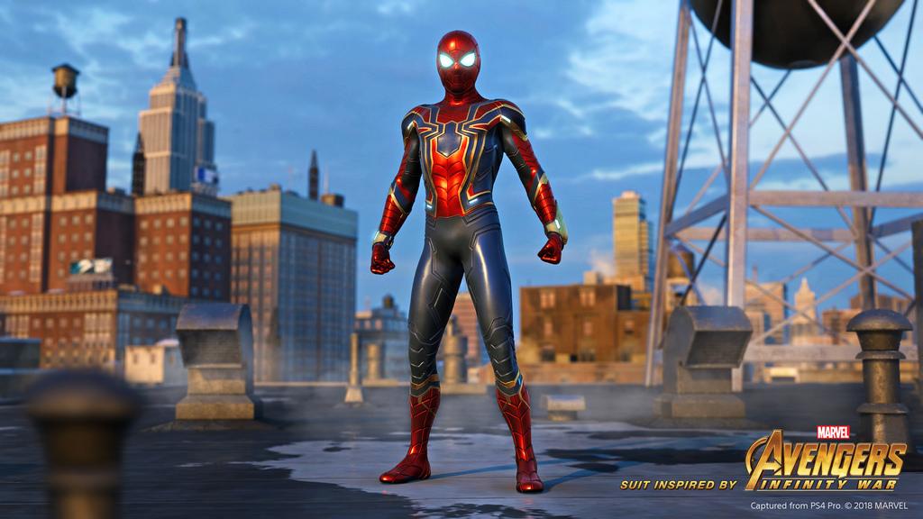 لباس مخصوص بازی (( Spider-Man ))