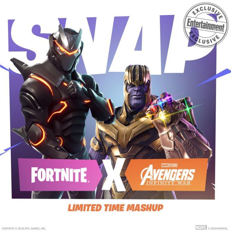 کاراکتر Thanos Fortnite-Avengers بازی Fortnite Epic games