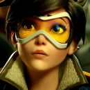 Tracer شرکت Blizzard دومین سالگرد بازی «Overwatch»