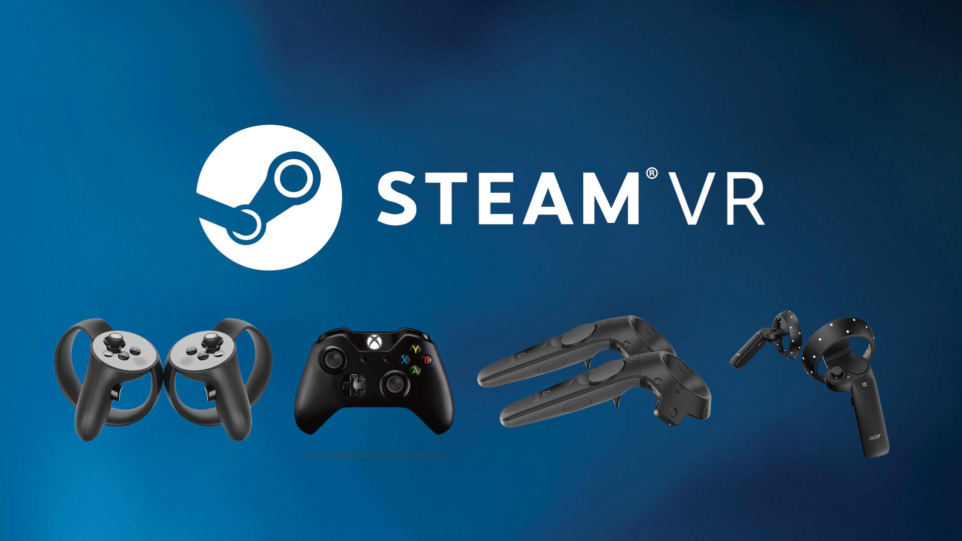 شرکت Valve ((SteamVR Input)) VR controllers