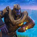 جاش برولین رقصیدن Thanos بازی Fortnite