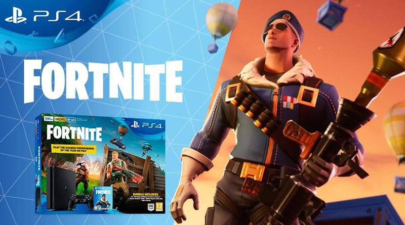 بسته بازی Fortnite بر روی PS4 ماه دیگر عرضه می شود