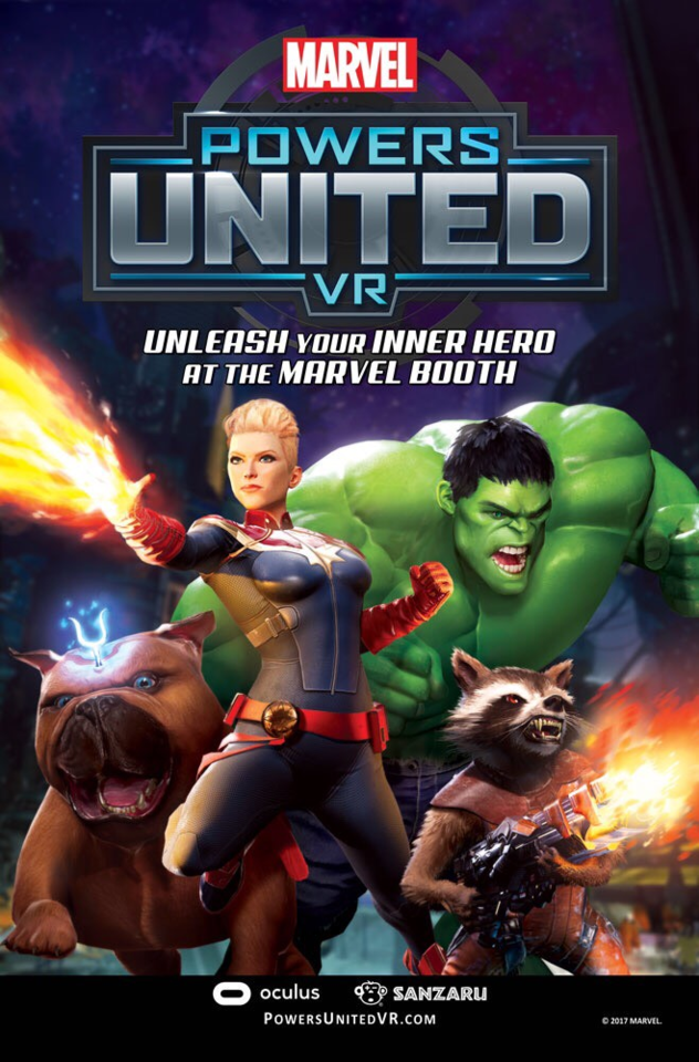 هدست Oculus Rift Marvel Powers United VR قهرمانان مارول
