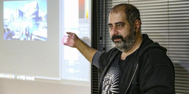 TGC 2018 | گزارش: رابطه بین کارگردان هنری و تکنولوژی از زبان علی کیانی امین