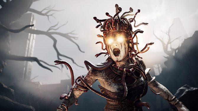 مدوسا هیولاهای یونان بازی Assassin's Creed Odyssey
