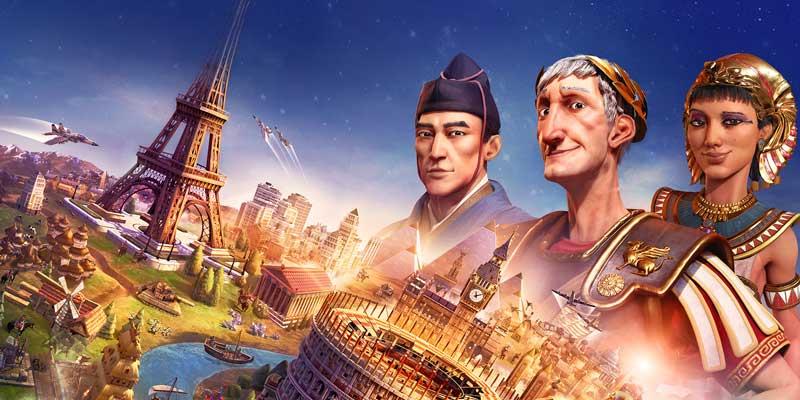 بازی Civilization VI بیست و پنجم آبان برای کنسول سوییچ عرضه میشود