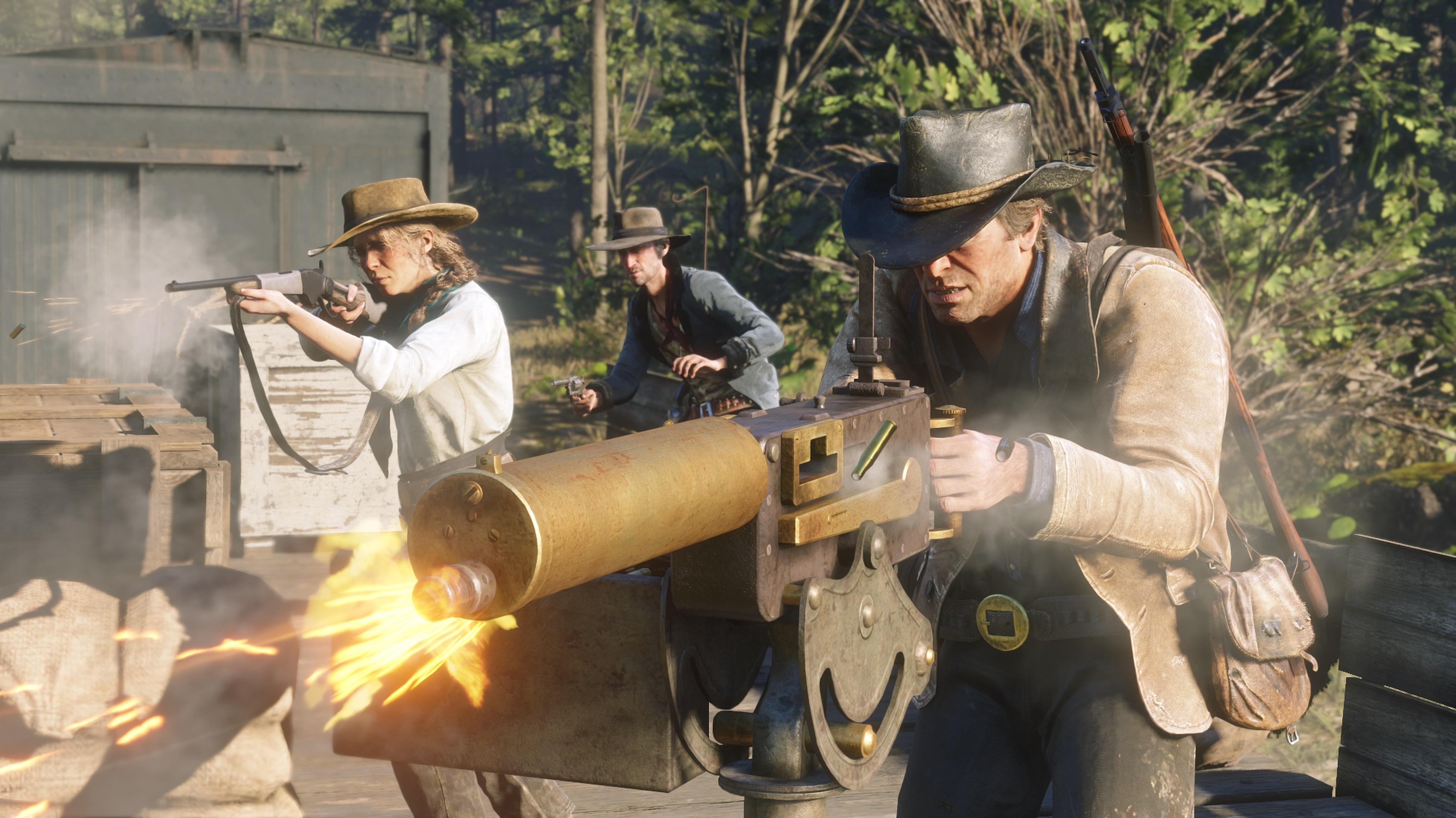 اسکرین شات جدید بازی Red Dead Redemption 2