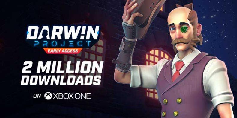 بازی بتل رویال Darwin Project در ایکسباکس وان به 2 میلیون کاربر دست یافت
