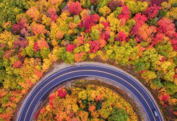 دیدنی های شمال در فصل پاییز