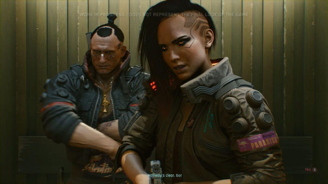 CYBERPUNK 2077 CD PROJEKT RED THE GAME AWARDS