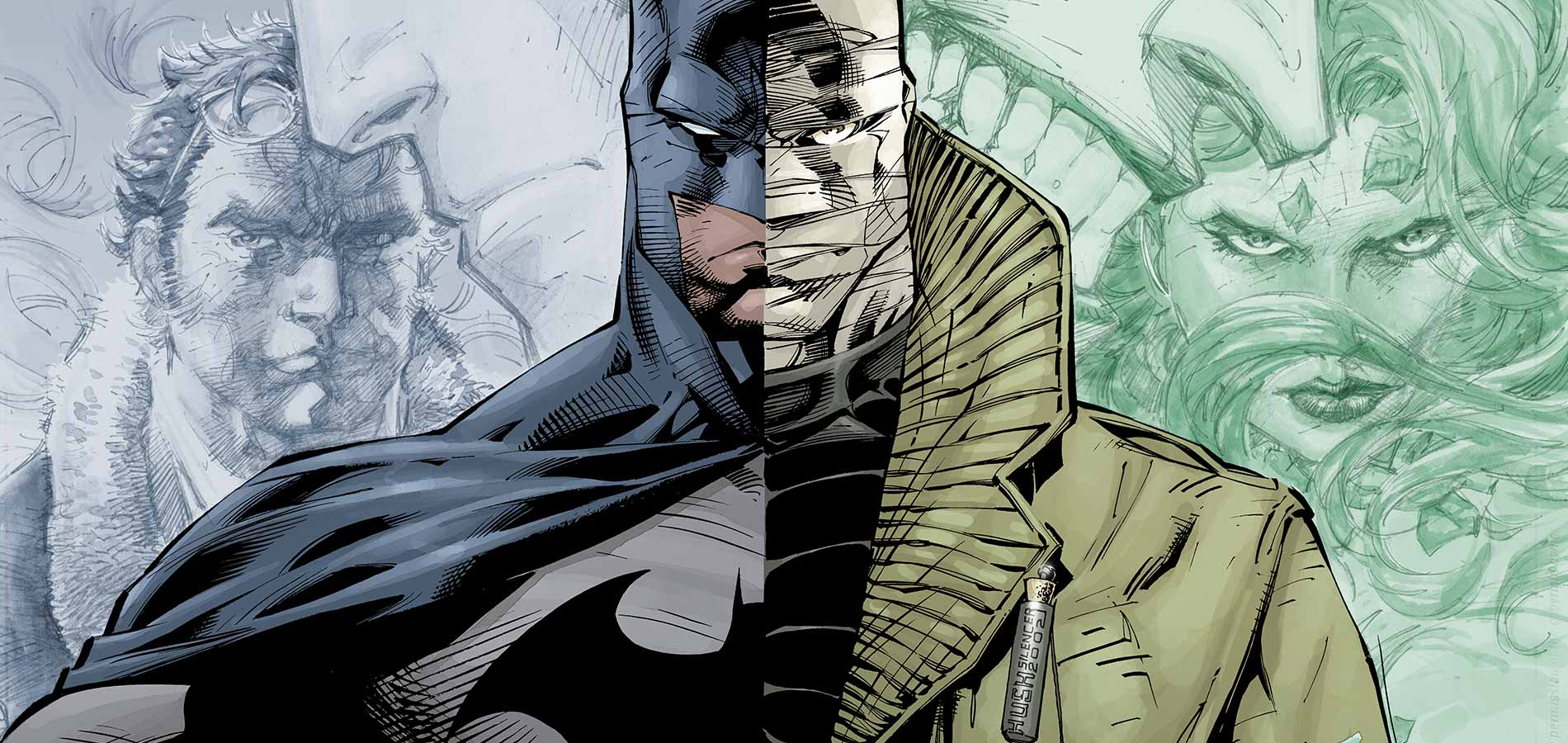 Batman Hush فیلم ابرقهرمانی DC