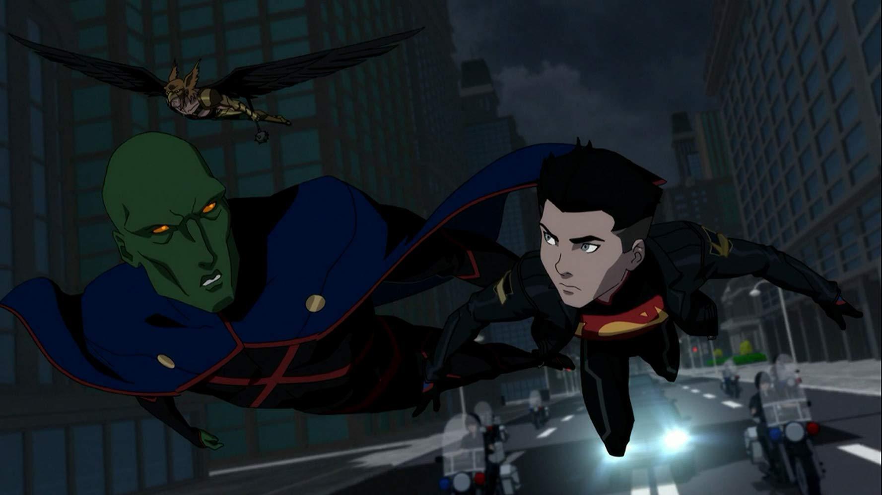 نقد انیمیشن Reign of the Supermen
