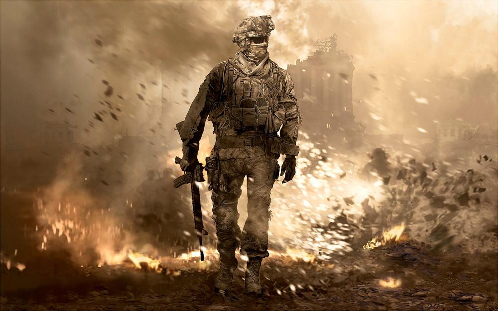 بازی Call of Duty Modern Warfare 4 infinity ward