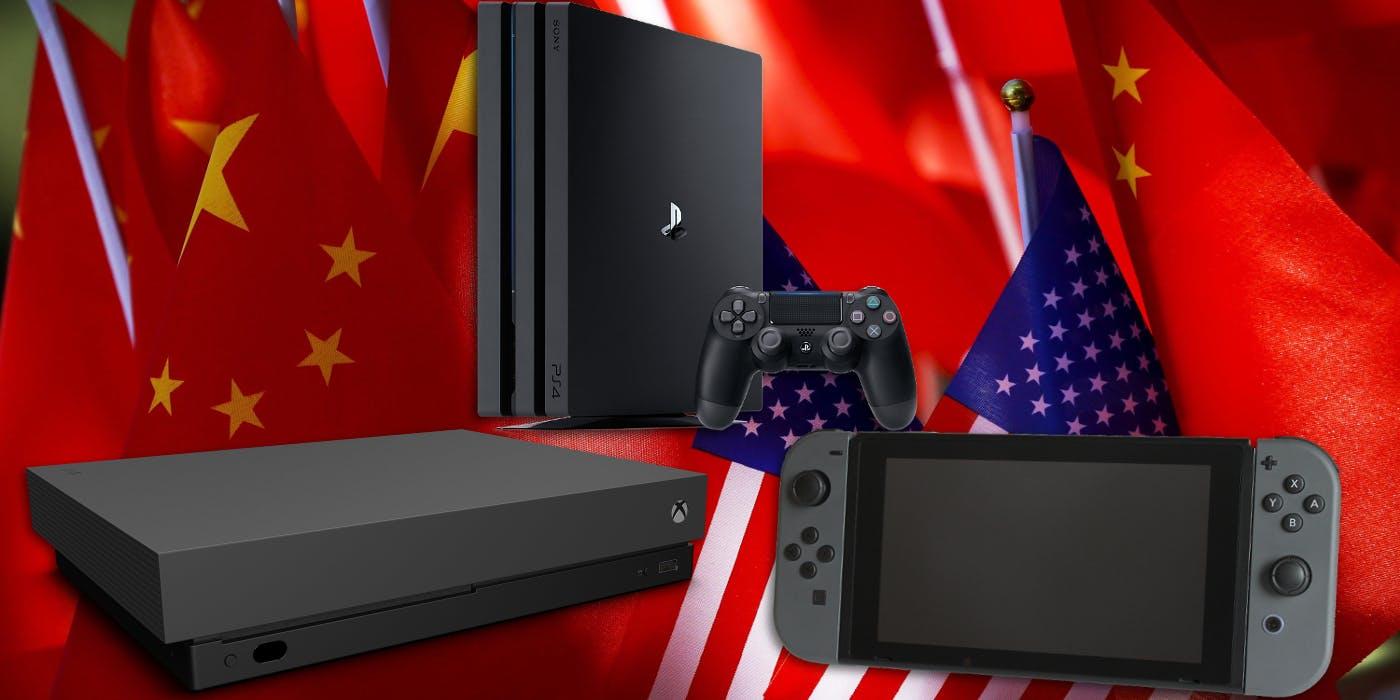 ترامپ ایالات متحده تعرفه گمرکی واردات از چین قیمت کنسولها