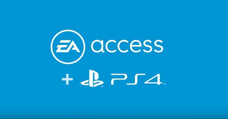 سرویس EA Access پلیاستیشن ۴