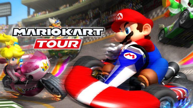 بتای بازی Mario Kart Tour برای اندورید آغاز شد