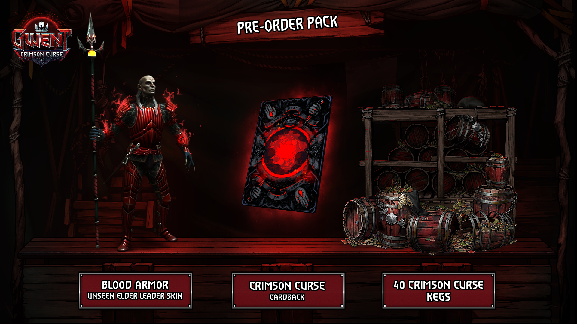 بررسی اولین گسترش دهندهی گوئنت: Crimson Curse
