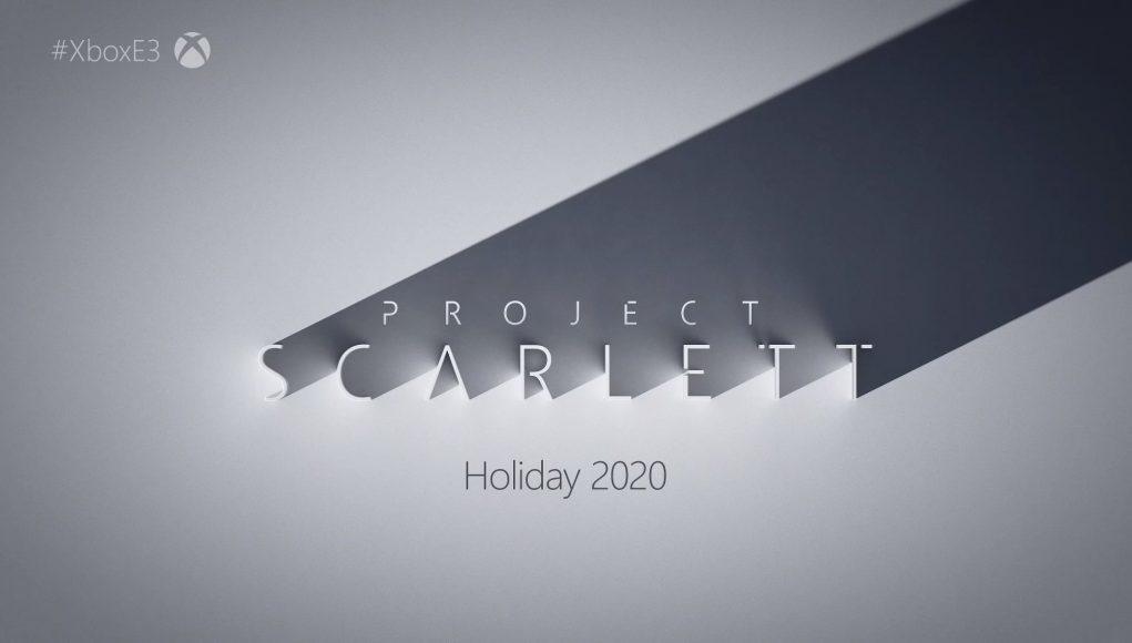 مایکروسافت E3 2019 پروژه اسکارلت Project Scarlet