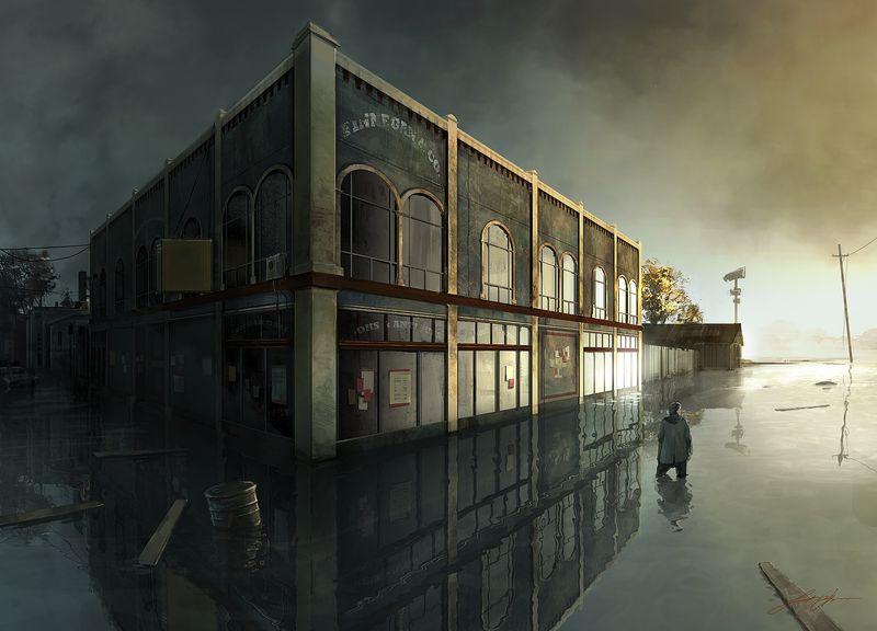 تماشا کنید: 13 دقیقه از نمونه اولیه گیمپلی بازی کنسلشده Alan Wake 2 در سال 2010