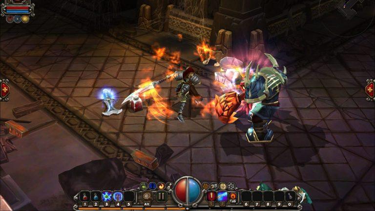 بازی Torchlight در فروشگاه اپیک گیمز رایگان شد