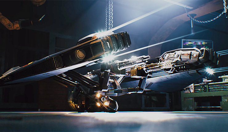 تماشا کنید: بازی Disintegration اثر جدید خالق Halo معرفی شد