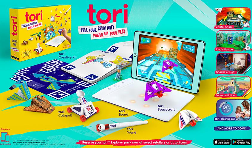 تماشا کنید: با Tori! خلاقیت خود را آزاد کنید و از بازیها بیشتر لذت ببرید
