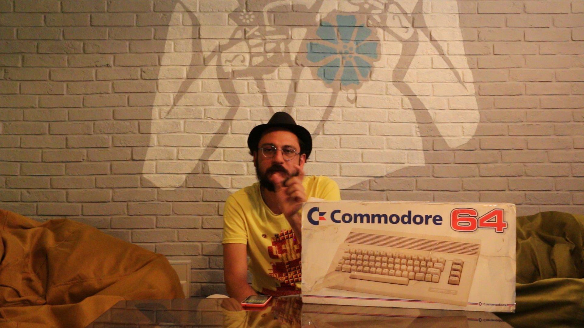 جعبه گشایی کومودور 64