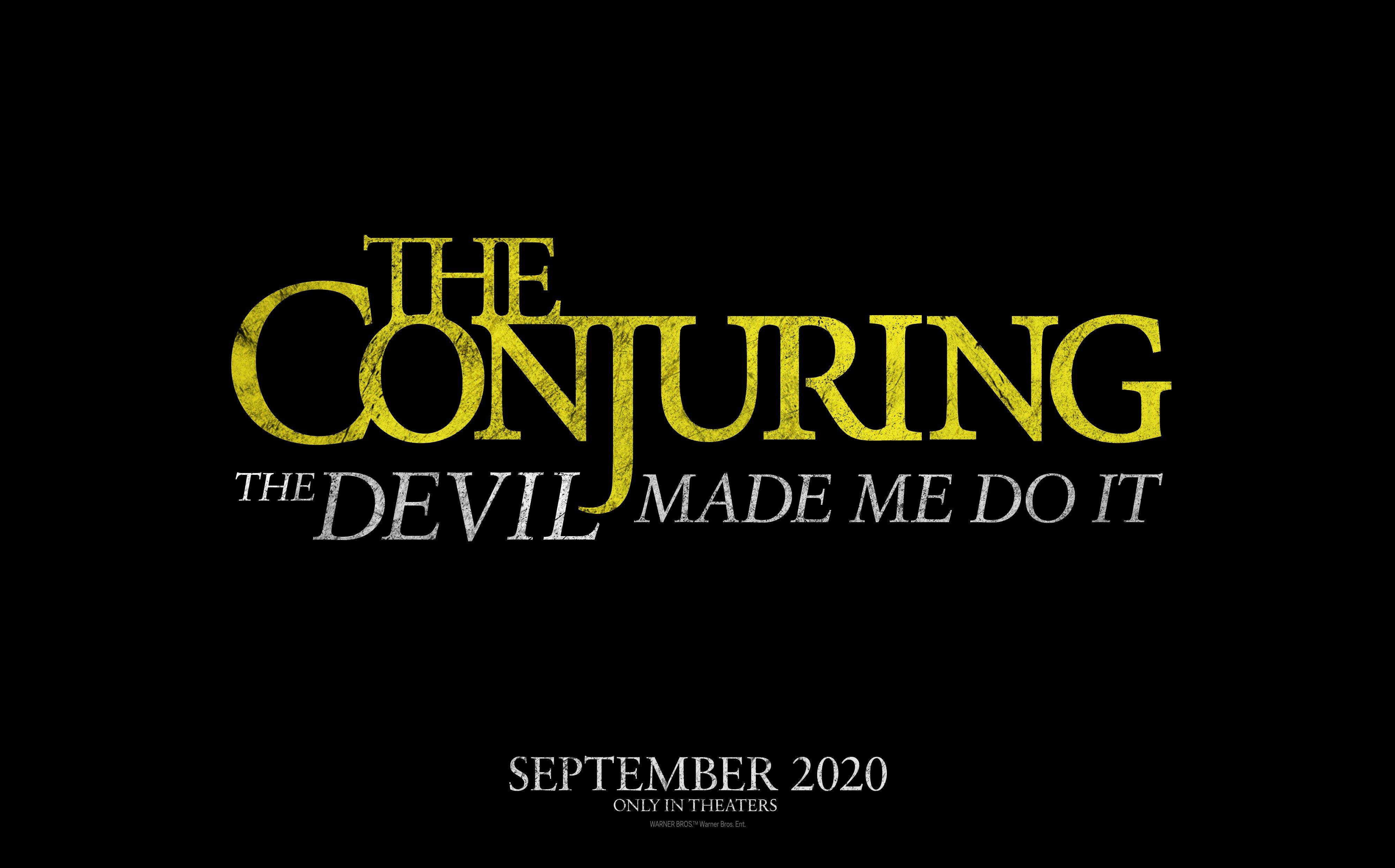 عنوان رسمی فیلم The Conjuring 3