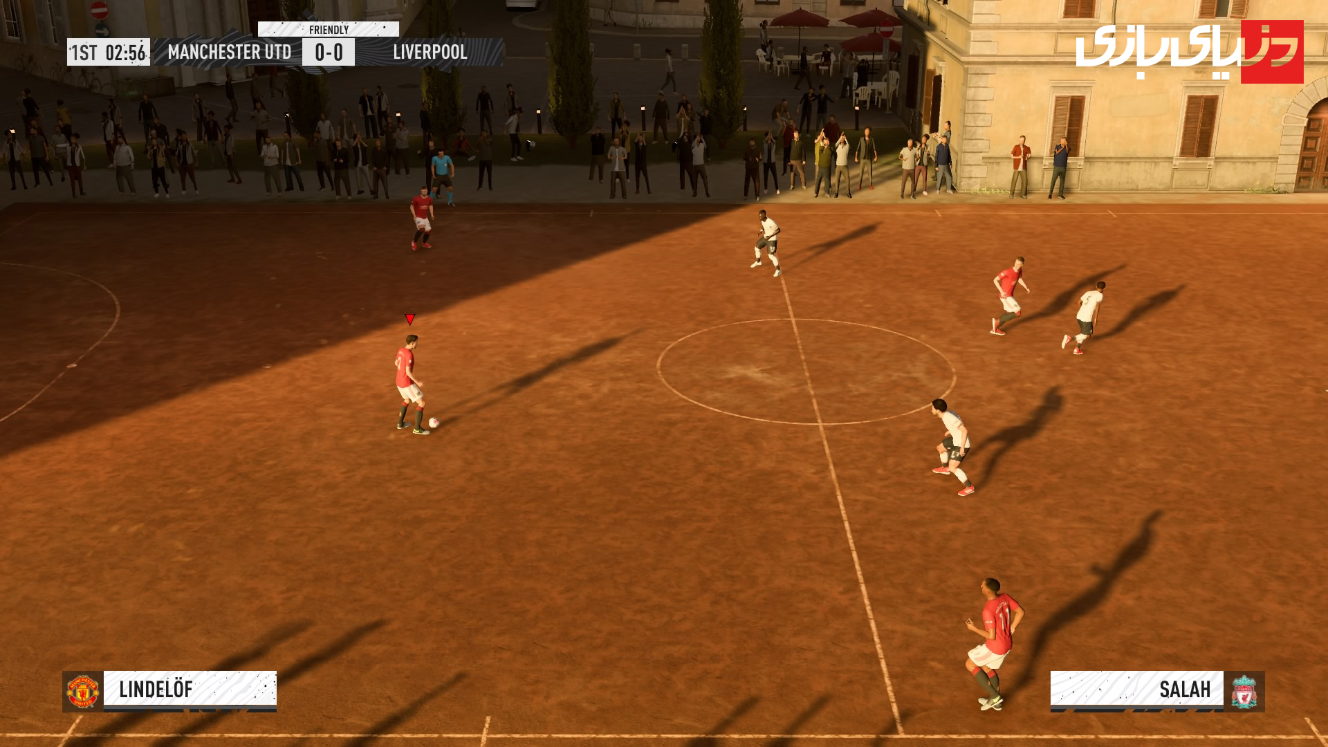 بخش فوتبال خیابانی بازی فیفا 2020