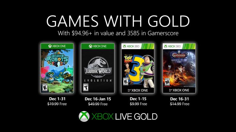 بازی های-رایگان-ماه-دسامبر-2019-سرویس-Xbox-Live-Gold