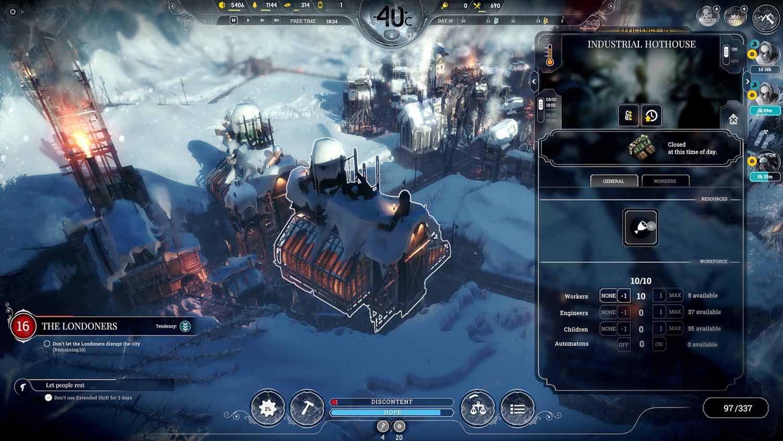 بررسی بازی FrostPunk